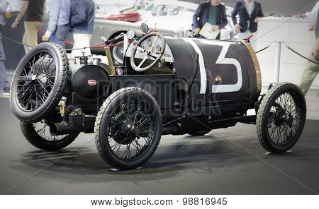 Exhibition Of Antique Sports Cars.