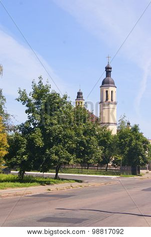 Chernihiv, 04.07.2015 - Building Of Catholic Church In Chernihiv, Ukraine