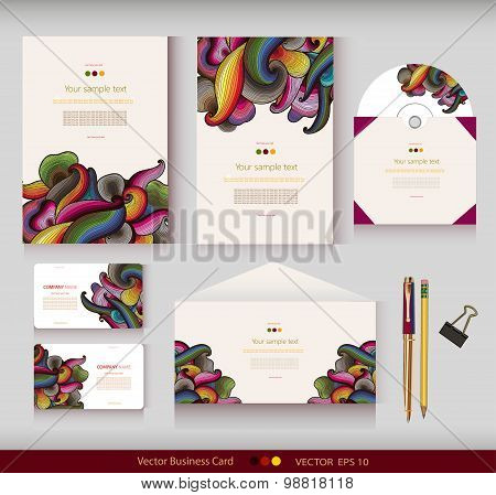 Corporate Identity. Vector templates.