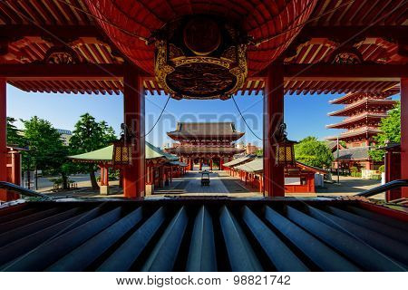 Tokyo City - Sensoji-ji Temple - Asakusa district, Japan, Asia