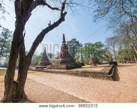 Kamphaeng Phet Historical Park, Thailand