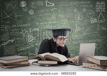 Postgraduate Studying In Class 2