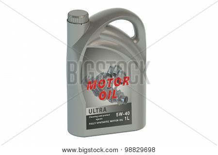 Gray Canister Motor Oil 1L
