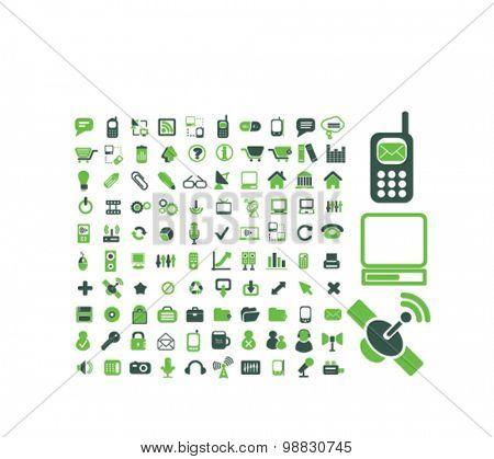 communication, internet, technology icons