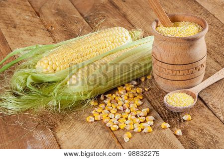 Corn And Corn Grits