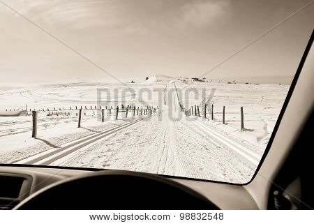 To Drive On The Snow