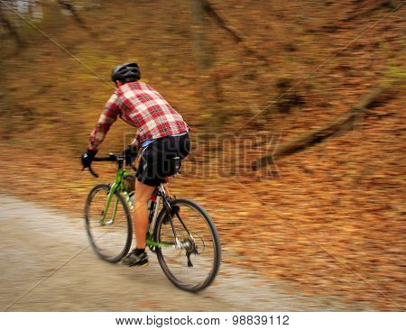 Biking in the Fall