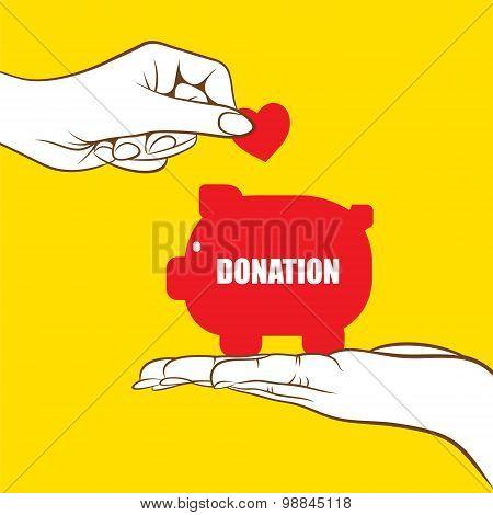 donation concept design