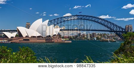 The Sydney Opera House is a multi-venue performing arts centre