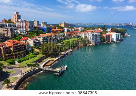 Kirribilli district is a harbourside suburb sitting on the Lower North Shore of Sydney Harbour.