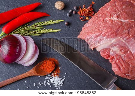 Meat And Spices