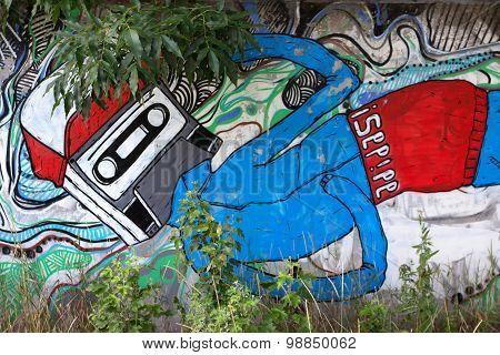Abstract Hip Hop Graffiti
