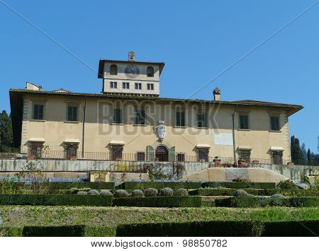 Castello near Florence in Italy