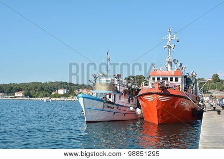 Fishing Boats in Croatia
