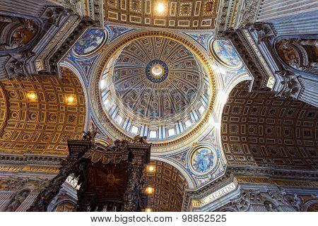 St Peter's Basilica.