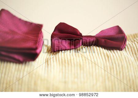 Red Bowtie Tux
