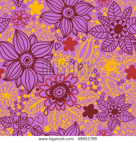 Floral Seamless Texture  Pattern