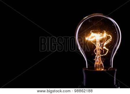 Lightning Inside A Glass Bulb