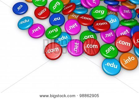 Domain Name Internet Concept