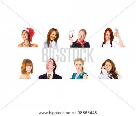 Closeup Concept People Diversity