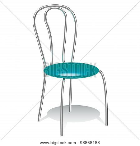 Illustration Of The Turquoise Chair
