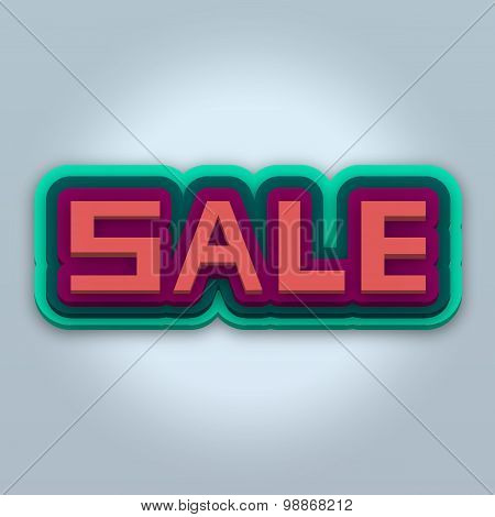 Colorful Banner Sale