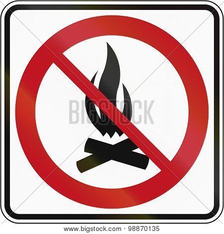 No Campfire In Canada