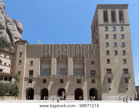 The Benedictine Abbey Santa Maria De Montserrat