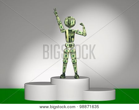 Leader On The Podium Usd