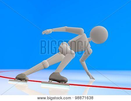 The Skater On Turn