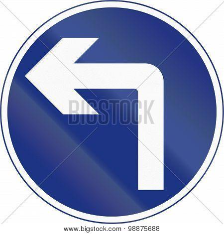 Turn Left Ahead In Ireland