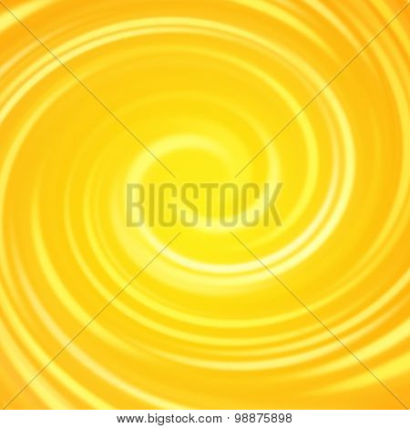 summer background swirl with orange & yellow hot colors