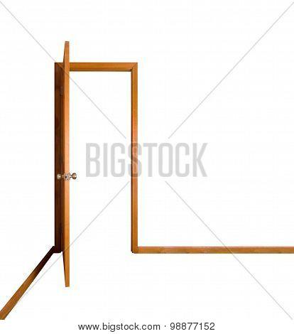 Open Door (clipping Path)