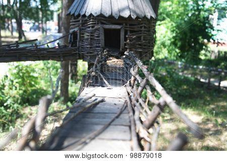 Toy Wooden Bridge