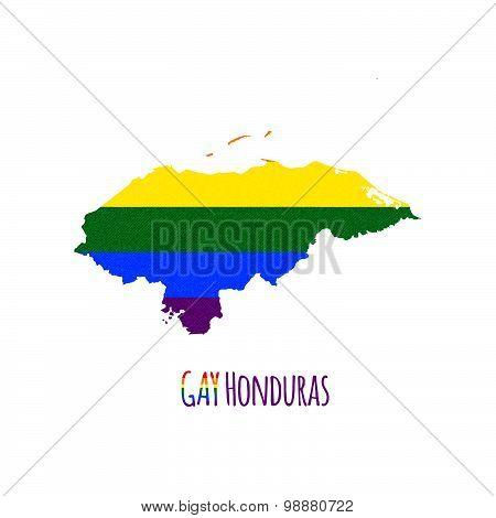Hondurasmap