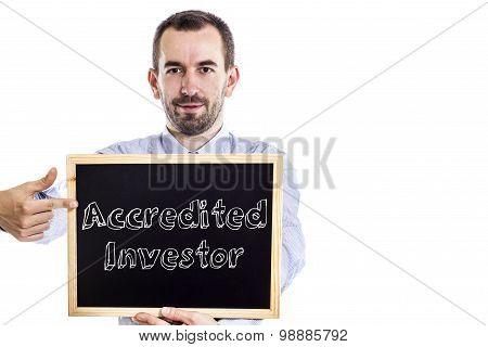 Accredited Investor