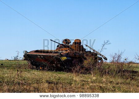 Ukrainian Armored Vehicles Destroyed