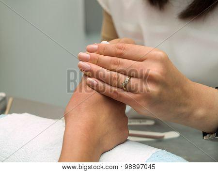 Preparing Manicure
