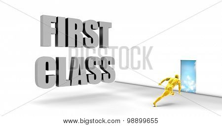 First Class as a Fast Track Direct Express Path