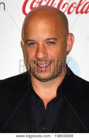 LAS VEGAS - MAR 31:  Vin Diesel in the CinemaCon Convention Awards Gala Press Room at Caesar's Palace on March 31, 2011 in Las Vegas, NV.