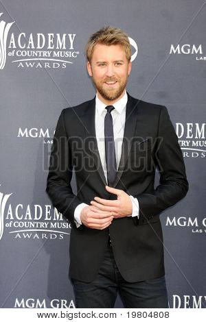 LAS VEGAS - APR 3:   Charles Kelley of Lady Antebellum  arriving at the Academy of Country Music Awards 2011 at MGM Grand Garden Arena on April 3, 2011 in Las Vegas, NV.