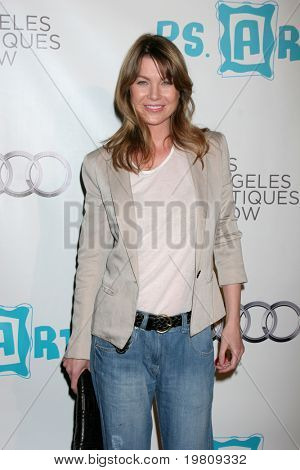 LOS ANGELES - APR 13:  Ellen Pompeo arriving at the 16th Los Angeles Antiques Show Opening Night Gala to benefit PS Arts at Barker Hanger on April 13, 2011 in Santa Monica, CA