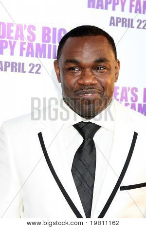 "LOS ANGELES - APR 19:  Rodney Perry arrives at the ""Madea's Big Happy Family"" Premiere at ArcLight Cinemas Cinerama Dome on April 19, 2011 in Los Angeles, CA.."