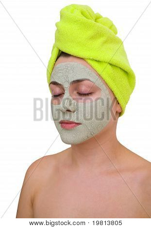 Facial Mask For Young Woman