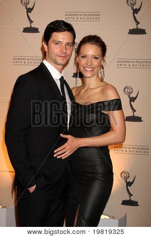 LOS ANGELES - MAY 5:  Jason Behr, KaDee Strickland arriving at the 4th Annual Television Academy Honors  at Beverly Hills Hotel on May 5, 2011 in Beverly Hills, CA
