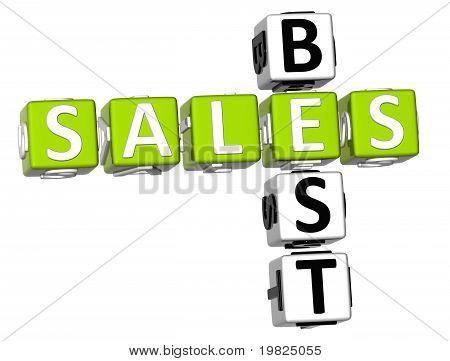 Best Sales Crossword