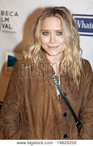 NEW YORK - APRIL 22: Mary-Kate Olsen attends the premiere of 'Whatever Works' during the Tribeca Film Festival at Ziegfeld  on April 22, 2009 in New York.