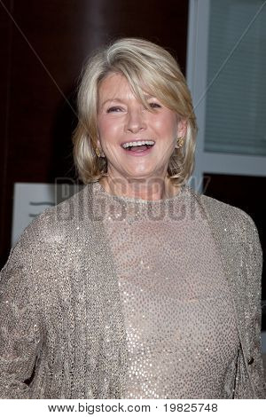 NEW YORK - SEPTEMBER 21: Martha Stewart arrives for opening night of the Metropolitan Opera September 21, 2009 at Metropolitan Opera House at Lincoln Center in New York.