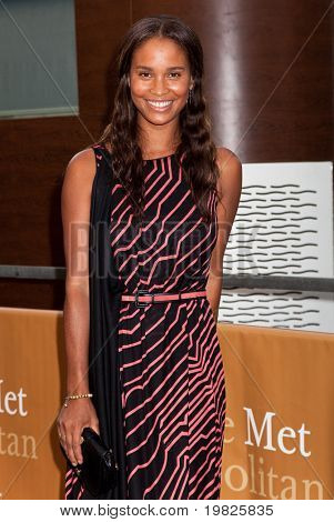NEW YORK - SEPTEMBER 21: Actress Joy Bryant attends the Metropolitan Opera season opening with a performance of 'Tosca' at the Lincoln Center  on September 21, 2009 in New York City.
