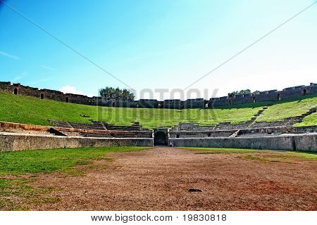 pompei amphitheater